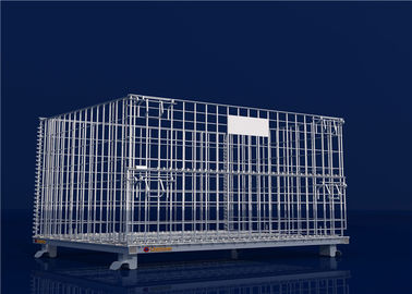 China Hot galvanized wire mesh container factory