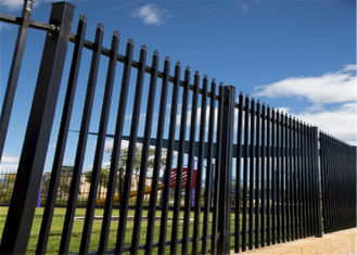 China Metal Garrison Fencing panels 2100mm x 2400mm width factory