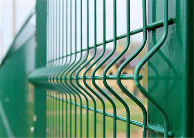 China vinyl coated wire mesh fencing factory