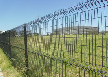 China decorative wire mesh 3d fence panel factory