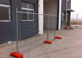 2100mm x 2400mm Melbourne temporary fencing standard OD 32 x 2.00 temp fence panels