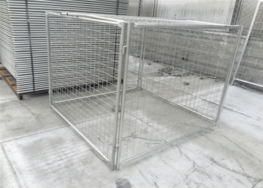 1500mm height x 1800mm width x 1800mm width tube 32mm*1.5mm wall thick rubbish containments and cage