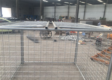 China 1500mm x 2000mm x 2000mm large size rubbish cage hot dipped galvanized rubbish cage contain factory