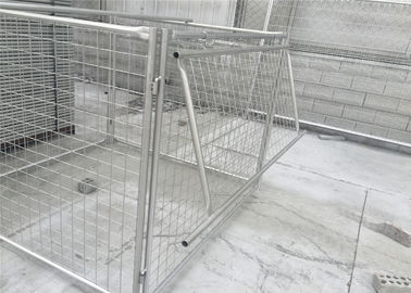 China Rubbish Cage 1500mm x 1800mm x 1800mm with lids and side and rear panels for sale Melbourne factory