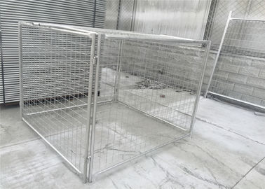 China Galvanized Steel Wire Mesh Rubbish Cage construction site factory