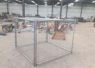 Australian hot sale galvanized steel wire rubbish cage