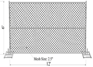 Chain Link Fence Panels 6'x12'