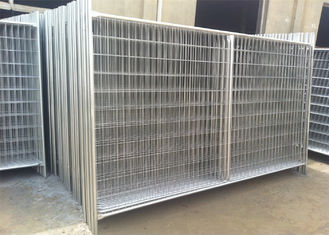 Porable Construction Fencing Panels Hot Dipped Galvanized Finished 2m x 3m