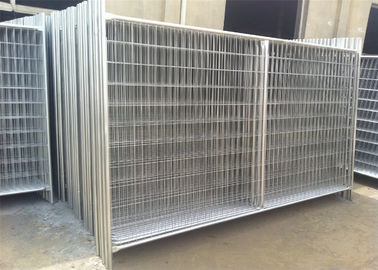China Porable Construction Fencing Panels Hot Dipped Galvanized Finished 2m x 3m factory