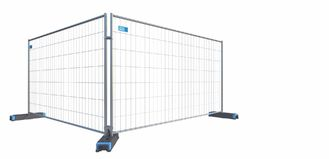 Horizontal tube diameter: 30mm Vertical tube diameter: 40mm ST 30 temporary Fence