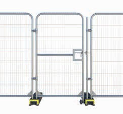 Temporary Fence Gates