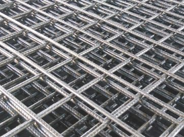 China A142 BRC rebar weld wire mesh factory