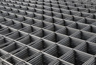 China DIN488 GERMAN STANDARD Weld Rebar Reinforced Wire Mesh For Construction Site factory