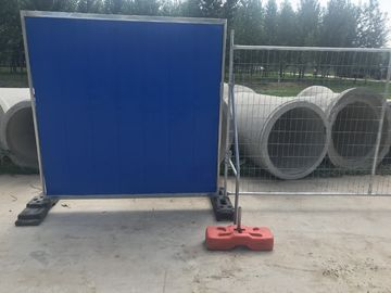 Temporary Steel Hoarding Available All Colour 2m x 2m size Colour Bond Steel