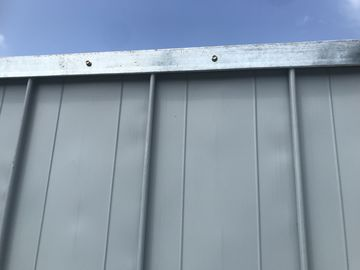 Steel Temporary Hoarding Panel 2m