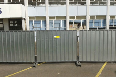 2.4m Steel Hoarding Panel Weight 40Kg