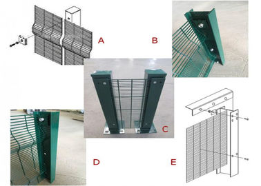 China 358 anti climb security fence/anti climb security fence/anti climb fence factory