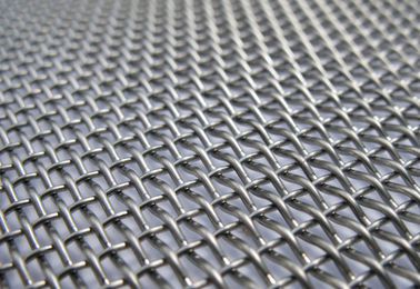 China 65 Mn Woven Crimped Wire Vibrating Screen Mesh for Vibrating Stone /Gold Ore/ Coal Mine /Copper Mine factory