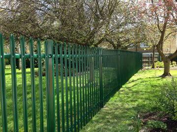 China Powder Coated Palidade Fencing factory