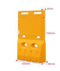 1500MM Height Water Barriers UV stabilized 5 Year Service Life Guarantee