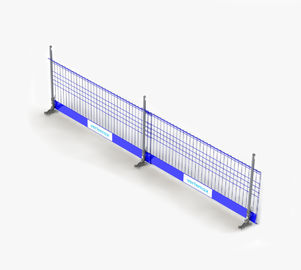 Portable Powder Coated Temporary Edge Fall Protection Barrier