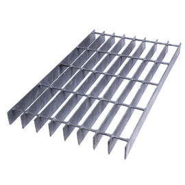 China Galvanized Industrial Walkway Bar Steel Grating factory