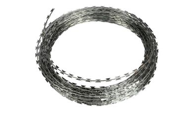 China Concertina Razor Barbed Wire Price/Hot Dipped Galvanized Razor Wire factory