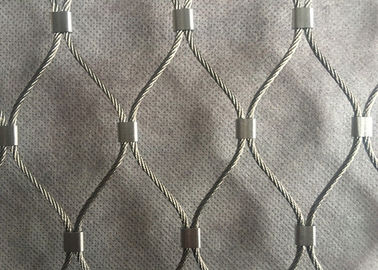 China NF-SS30/01 1.0mm 30*30mm Aviary Rope Wire mesh factory