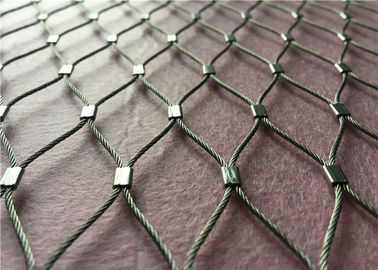 China Stainless Steel Grade Cable Wire Mesh Netting factory