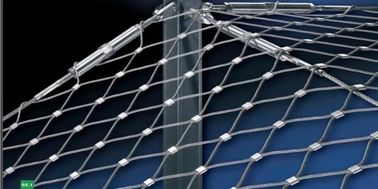 China Cable Stainless Steel Wire Rope Mesh Safety Net factory