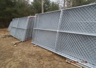 China Chain Link Temporary Panels 8'x10' and 8'x12' factory