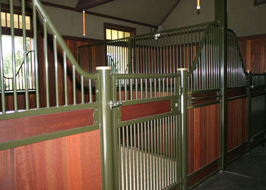 China Powder Coated Horse Stall factory