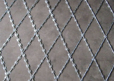 China Welded Razor Wire Mesh Fence BTO12 50mm*100mm factory
