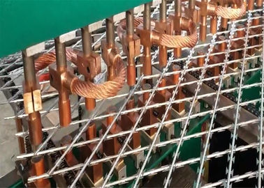 China Welded Razor Wire Mesh Ribbon Fence factory