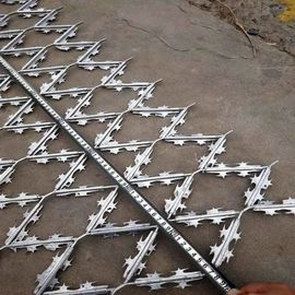 China Welded razor wire mesh is Security fence factory