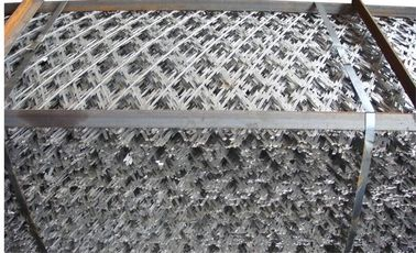 China High Security Razor Wire Fence Welding Mesh 50mm*50mm factory