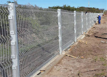 High Security Wire  358 Fencing Panel Fence With 76.2 * 12.7mm Mesh Hole