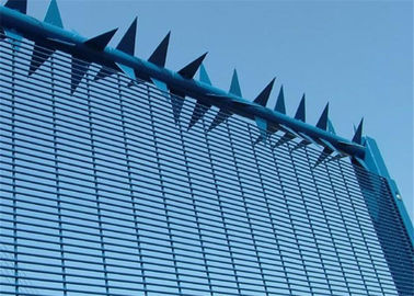 China High Security Wire Mesh Fence galvanized 358 Fence welded wire mesh panel fencing factory