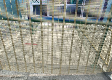 2515mm Width Security 358 Prison Anti-Cut and Climb Wire Mesh Fence