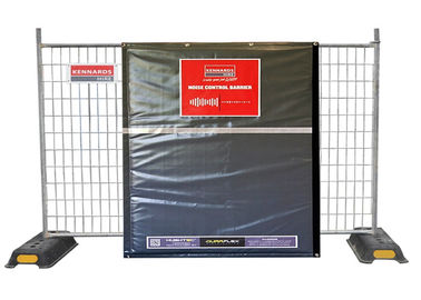Portable Constrution Noise Barriers for Temp Fence Panels