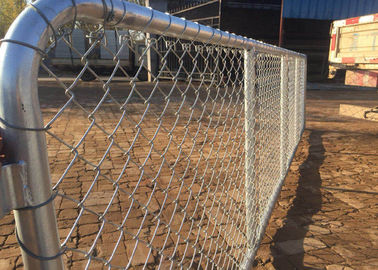 Chain Link Farm Gate 75x75mm 3.0MM Diameter Hot dipped galvanized