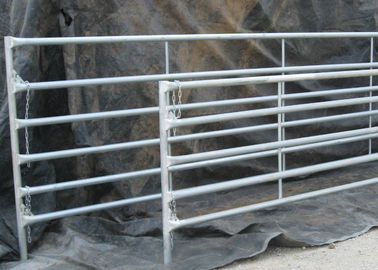 Hot Dipped Galvanized Corral Panel, Chain Latch, 12 Ft Corral fencing