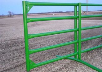 Powder Coated Corral Panel, Chain Latch, 12 Ft Corral