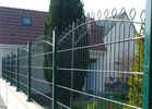 China supply double horizontal wire welded arched mesh fence supplier