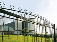 China Arched Wire Fence, 656 Wire Fence, Double Wire Fence factory