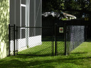 Boundary Wall wire fencing mesh For Leisure Sports Field / School Chain Link Fence supplier