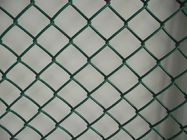 65x65 mm plastic pvc coated chain link wire mesh fence supplier