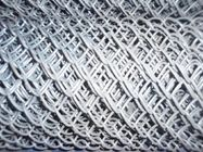 Galvanized CYCLONE FENCE Chain Link Fencing 55mm For Garden Residential supplier