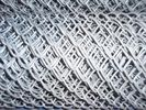 Hot - Dipped Galvanized Iron Wire Chain Link Fences 2'' / 11.5GA supplier