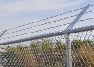 High Quality Galvaznied Reasonable Price PVC Coated Chain Link Wire Mesh Fence supplier
